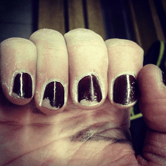 rock climbing nails